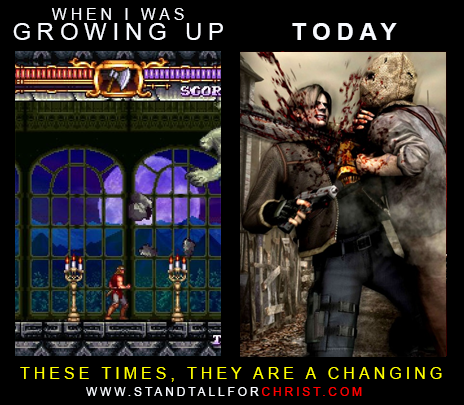 THESE TIMES ARE CHANGING - GAMES