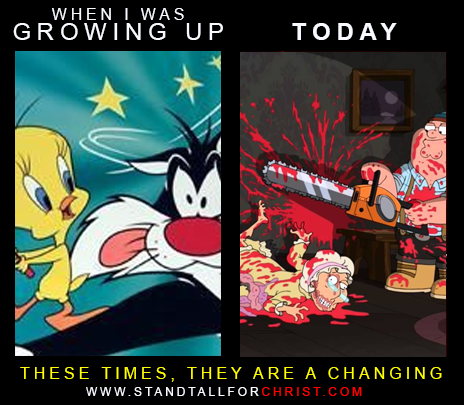 THESE TIMES ARE CHANGING - TOONS