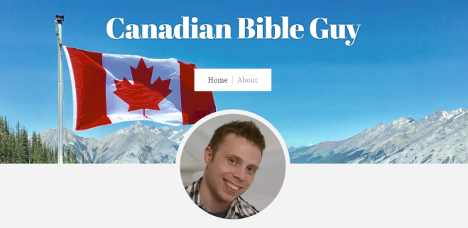 Canadian bible Guy