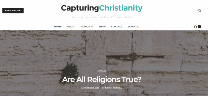 Capturing Christianity